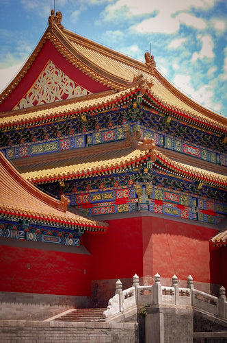 Buildings of the Forbidden City - Tracy McCrackin Photography
