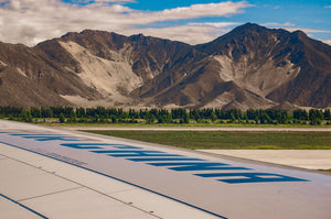 China Air Landing in Tibet - Tracy McCrackin Photography