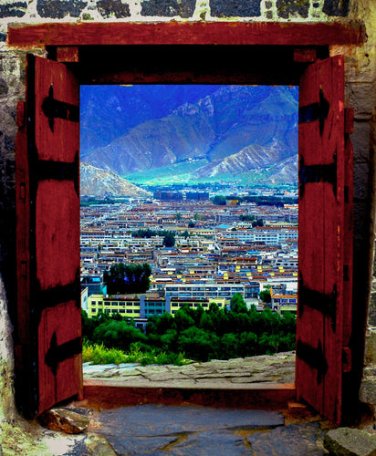 Doorway to Tibet - Tracy McCrackin Photography