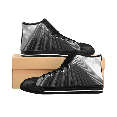 City High-rise Men's High-top Sneakers - Tracy McCrackin Photography