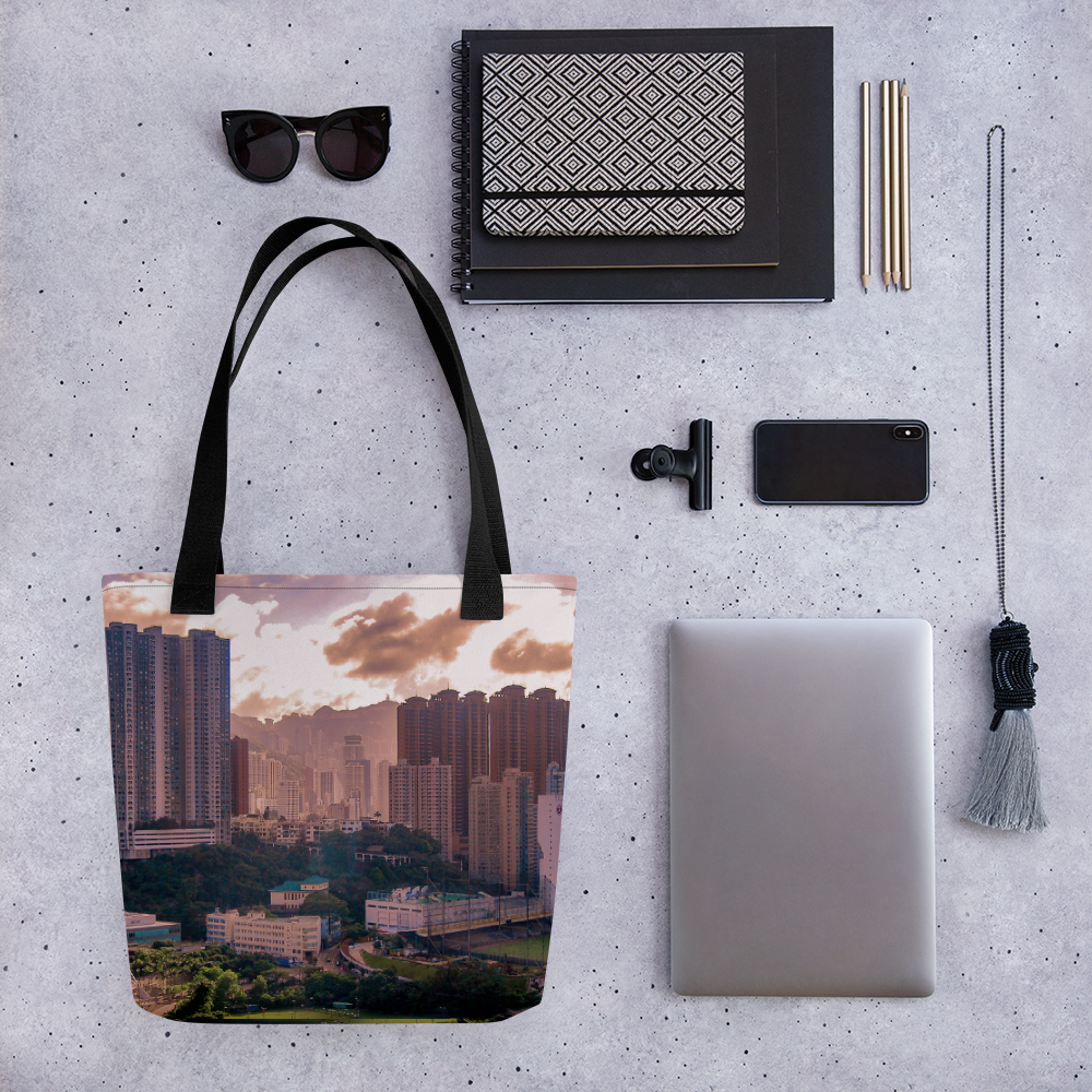City by Sunset Tote bag - Tracy McCrackin Photography