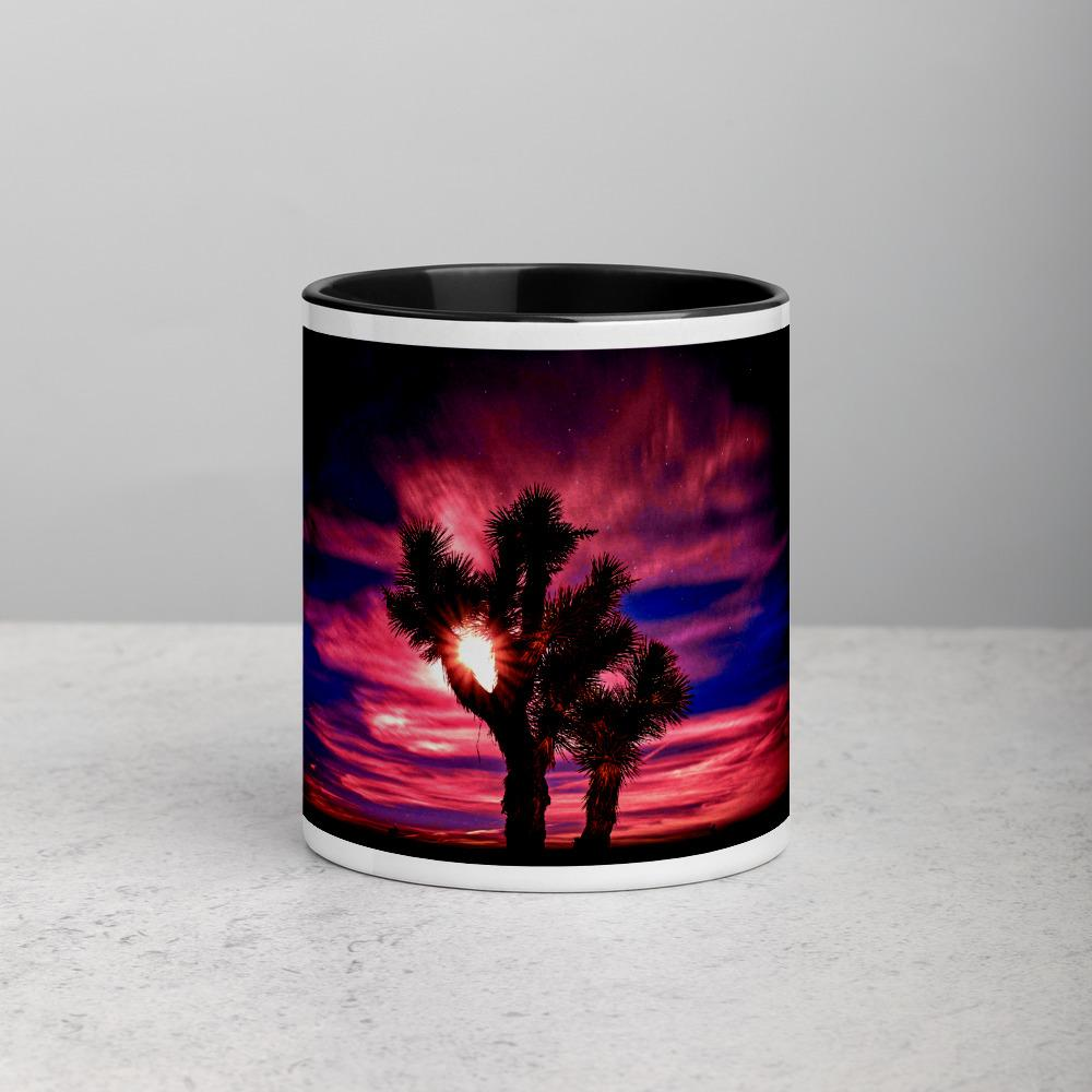 Joshua Tree Mug with Color Inside - Tracy McCrackin Photography