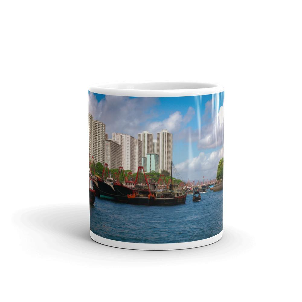 Hong Kong Harbor Mug - Tracy McCrackin Photography