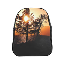 Load image into Gallery viewer, Lake Tahoe Mountain Sunset Utility Backpack - Tracy McCrackin Photography