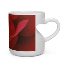 Load image into Gallery viewer, Heart Shape Rose Mug - Tracy McCrackin Photography