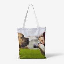 Load image into Gallery viewer, Humorous Photography Canvas Tote Bags - Tracy McCrackin Photography