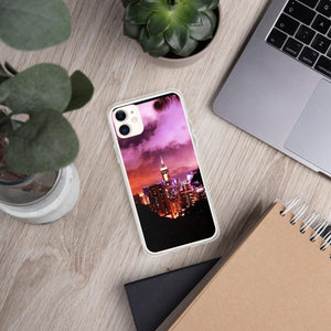 Hong Kong Ruby Sky iPhone Case - Tracy McCrackin Photography