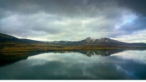 Panarama of the Fjords of Iceland - Tracy McCrackin Photography
