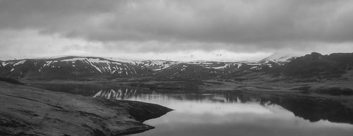 Panorama View of Iceland's Fjords - Tracy McCrackin Photography