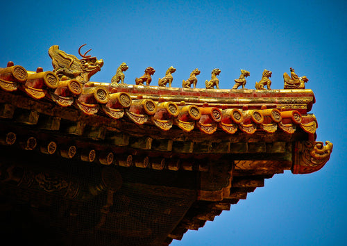 Rooftops of the Forbidden City - Tracy McCrackin Photography