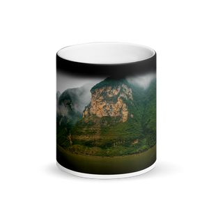 Mountain Mist Black Magic Mug - Tracy McCrackin Photography