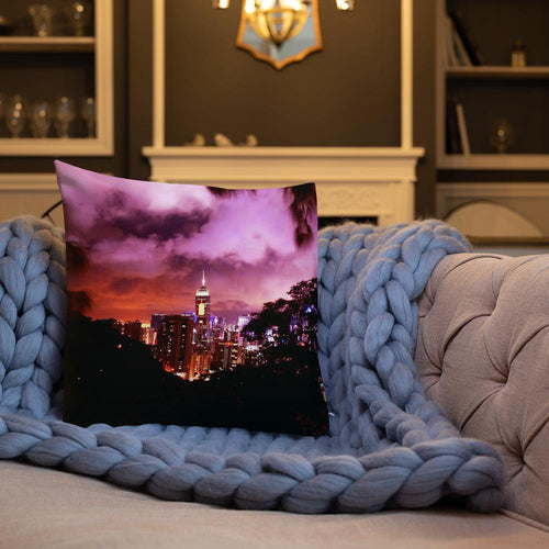 Ruby Nightscape Pillows - Tracy McCrackin Photography