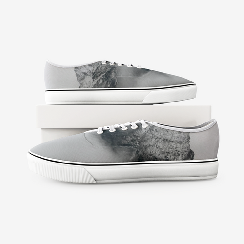 Mountain Mist Unisex Canvas Sneakers - Tracy McCrackin Photography