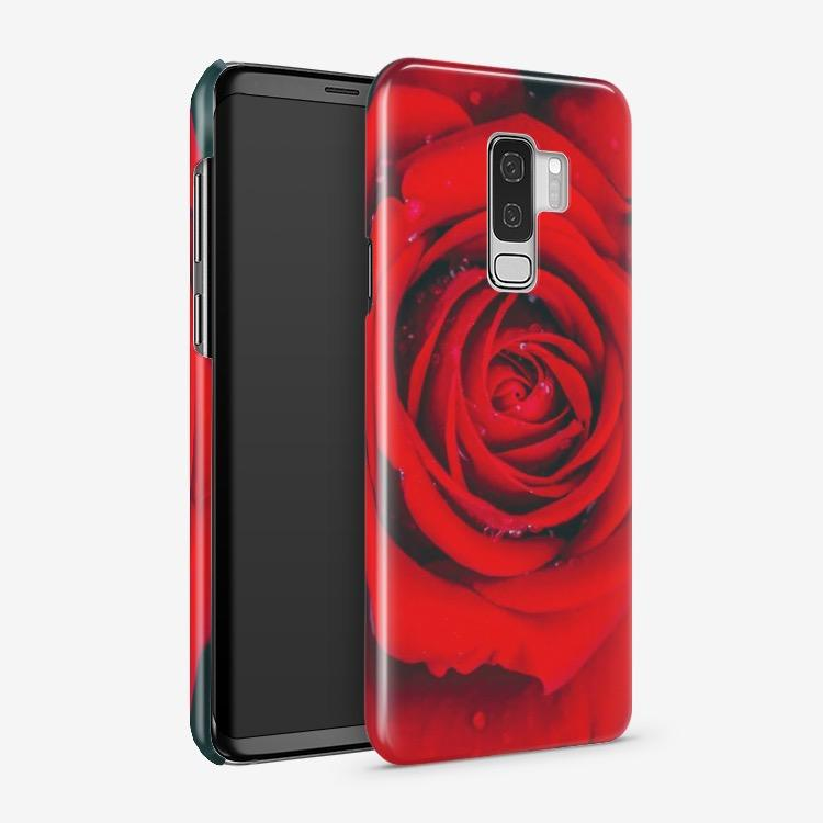 Red Rose Samsung Phone Cases - Tracy McCrackin Photography