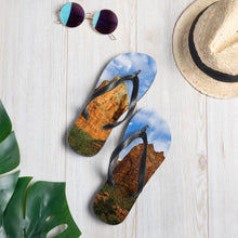 Load image into Gallery viewer, Red Rocks Flip-Flops - Tracy McCrackin Photography