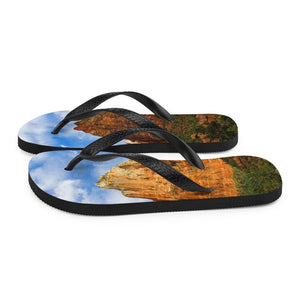 Red Rocks Flip-Flops - Tracy McCrackin Photography