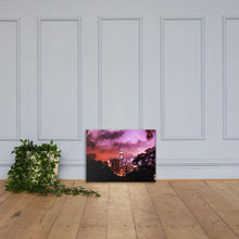 Load image into Gallery viewer, Ruby City Nightscape Canvas (Colored) - Tracy McCrackin Photography