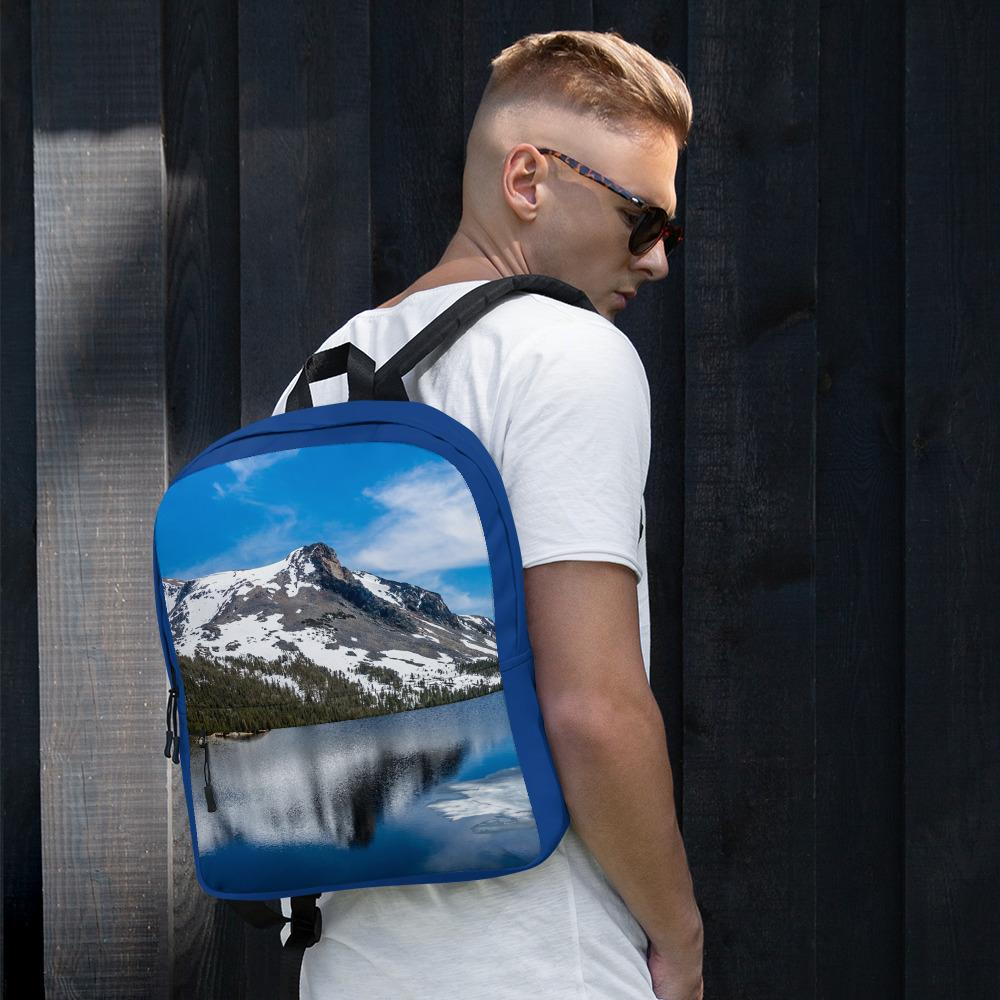 Snowy Mountain Utility Backpack - Tracy McCrackin Photography