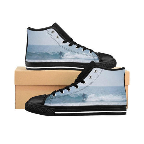 Surf's Up Men's High-top Sneakers - Tracy McCrackin Photography