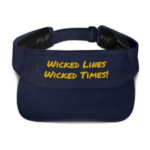 Wicked Times Rock Climbing Visor - Tracy McCrackin Photography