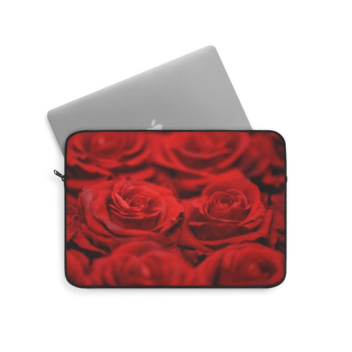 Bouquet of Roses Laptop Sleeve - Tracy McCrackin Photography