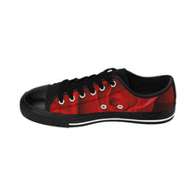 Load image into Gallery viewer, Beautiful Red Rose Women's Sneakers - Tracy McCrackin Photography
