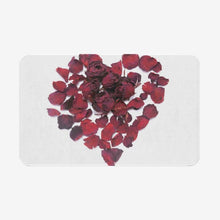 Load image into Gallery viewer, Heart Rose Non-Slip Soft Kitchen Mat Bath Rug Doormat - Tracy McCrackin Photography