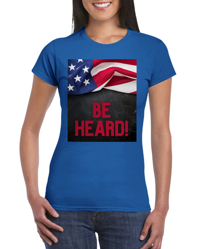 Be Heard Women's Crewneck T-shirt - Tracy McCrackin Photography