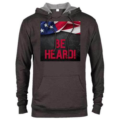 Be Heard Premium Unisex Pullover Hoodie - Tracy McCrackin Photography