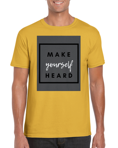 Make Yourself Heard Unisex Crewneck T-shirt - Tracy McCrackin Photography