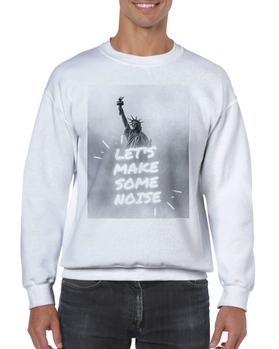 Let's Make Some Noise Unisex Crewneck Sweatshirt - Tracy McCrackin Photography