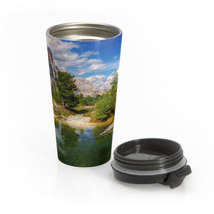 Lovely Lake Stainless Steel Travel Mug - Tracy McCrackin Photography