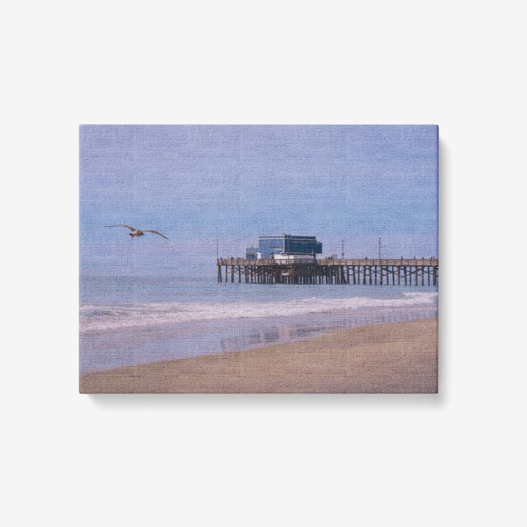 Sea and Sand - 1 Piece Canvas Wall Art for Living Room - Framed Ready to Hang 24