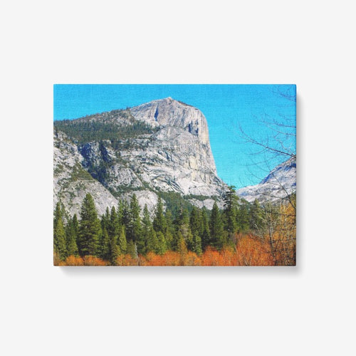Fall in Yosemite - 1 Piece Canvas Wall Art - Framed Ready to Hang 24