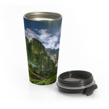 Load image into Gallery viewer, Beautiful Mountains Stainless Steel Travel Mug - Tracy McCrackin Photography