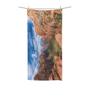 Red Mountains Towel - Tracy McCrackin Photography
