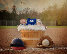 Load image into Gallery viewer, Little Dreamer Baseball - Tracy McCrackin Photography