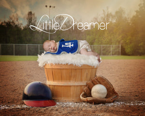 Little Dreamer Baseball - Tracy McCrackin Photography