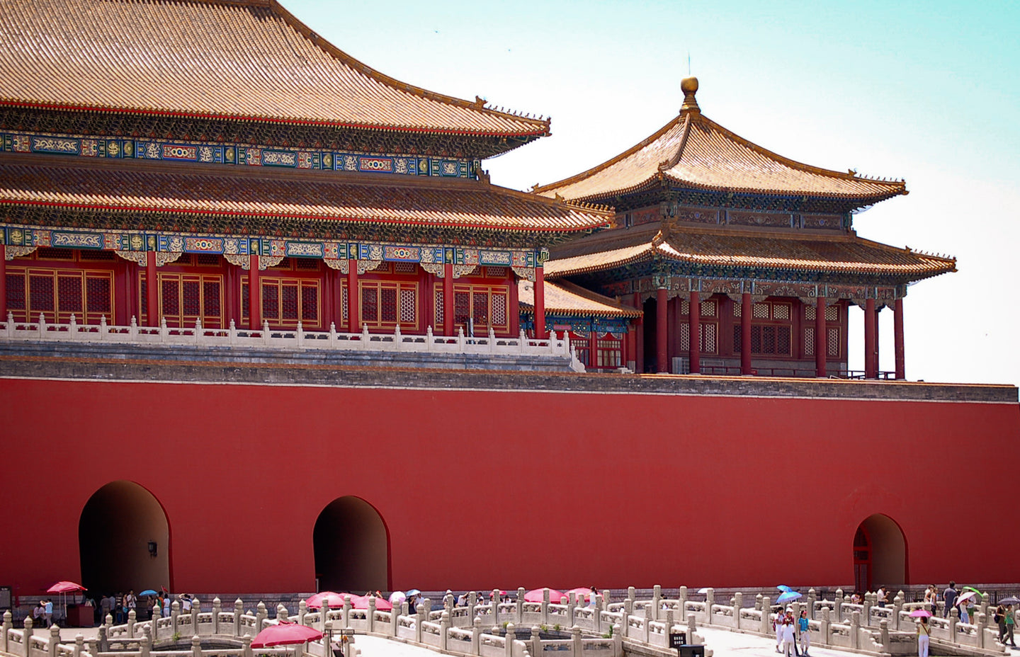 Forbidden City Entrance - Tracy McCrackin Photography