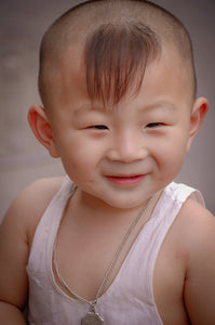 Smiling Chinese child - Tracy McCrackin Photography
