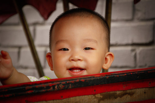 Smiling Child - Tracy McCrackin Photography