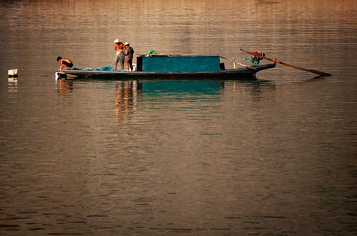 Gone Fishing In The Yangtze River - Tracy McCrackin Photography