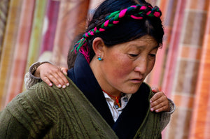 Mother and Child of Tibet - Tracy McCrackin Photography