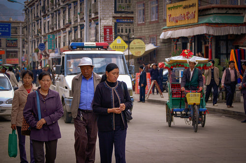 Downtown Llasa Tibet - Tracy McCrackin Photography
