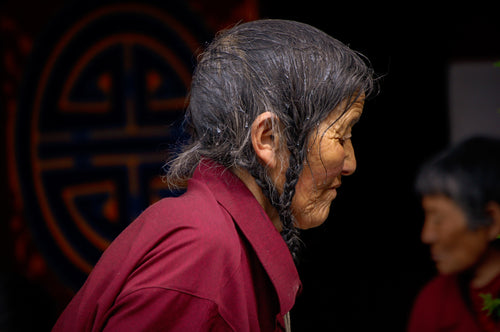 Contemplation of a Tibetan Women - Tracy McCrackin Photography