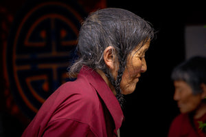 Contemplation of a Tibetan Women