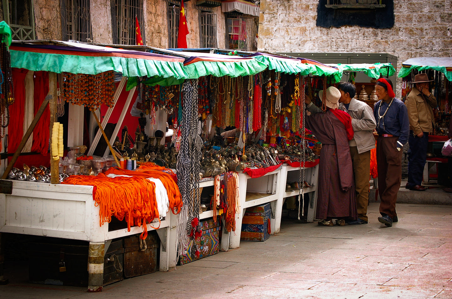 Tibetan Marketplace - A Beautiful Place To Go Most Famous Place - Tracy McCrackin Photography