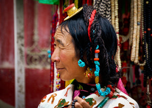 Tibetan Hair Jewelry - Tracy McCrackin Photography
