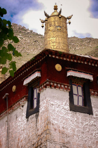 Decor on Tibetan Monastery - Tracy McCrackin Photography
