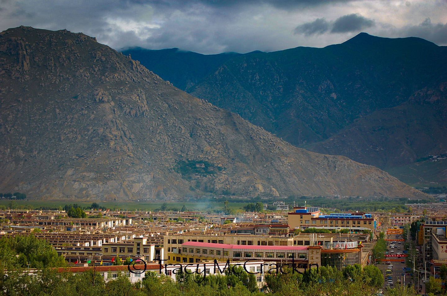Mesmerizing View Of Downtown Llasa Tibet - Tracy McCrackin Photography